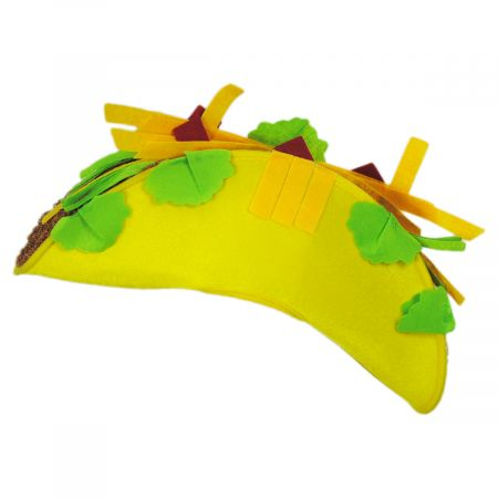 Jacobson Felt Taco Hat