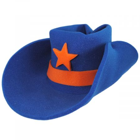 30 Gallon Foam Cowboy Hat