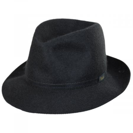 Traveller Rollable Fur Felt Fedora Hat alternate view 9