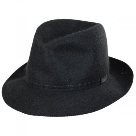 Traveller Rollable Fur Felt Fedora Hat alternate view 13