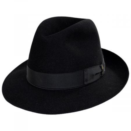 Borsalino Superiore Como Fur Felt Fedora Hat