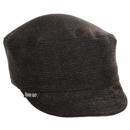 Benjamin Ribbed Wool Peacekeeper Cap