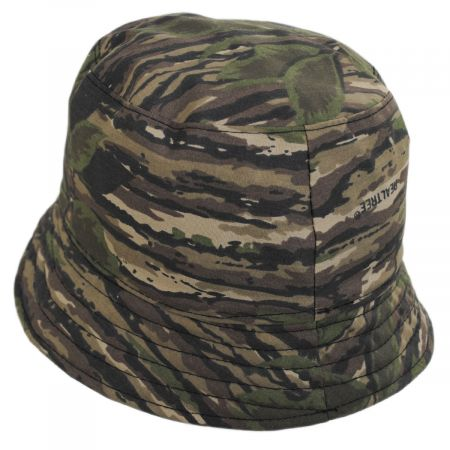 Flipside Jeff Cotton Reversible Bucket Hat