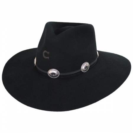 Traveler Wool Felt Crossover Hat