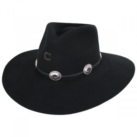 Charlie 1 Horse Traveler Wool Felt Crossover Hat