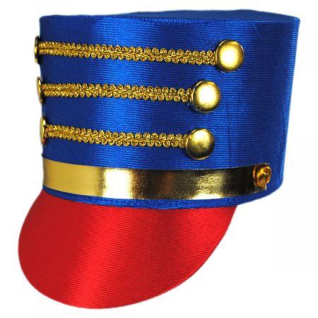 Satin Drum Major Hat