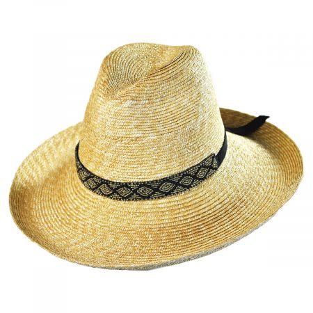 Solitaire Milan Straw Fedora Hat alternate view 5