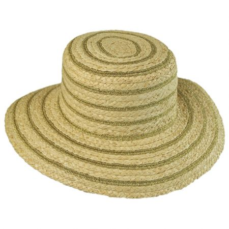 Physician Endorsed D'or Raffia Straw Blend Sunhat