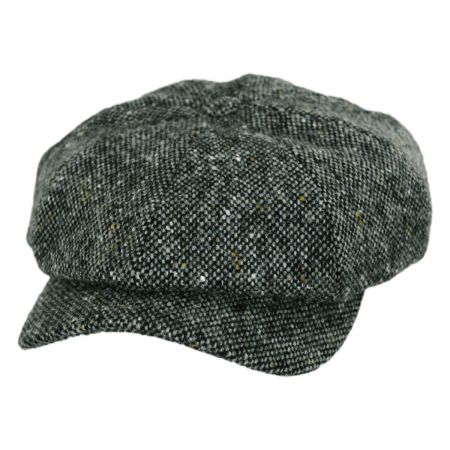 Magee Tic Weave Lambswool Newsboy Cap alternate view 9