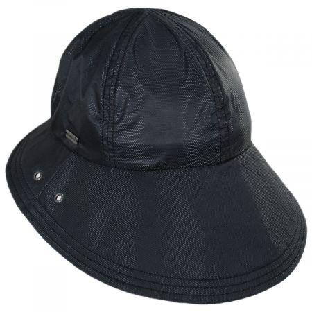Golf Cotton Blend Cloche Hat