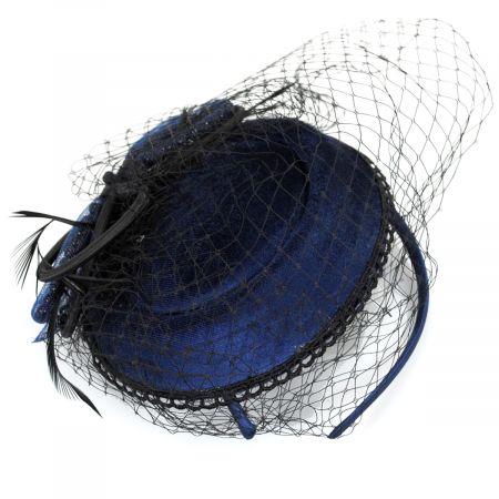 Jeanne Simmons Velvet Scallop Lace Fascinator
