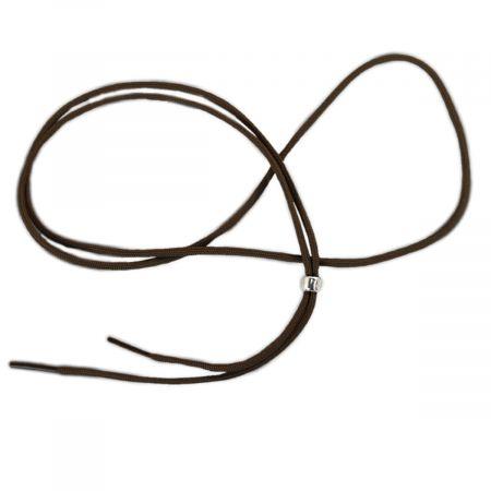 Brown Nylon Cord Chin Strap