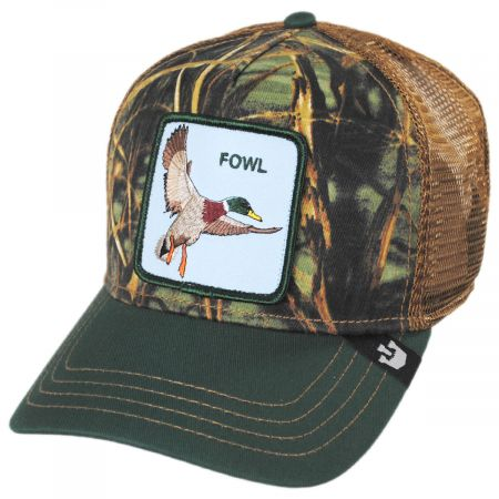 Fowl Trucker Snapback Baseball Cap alternate view 1