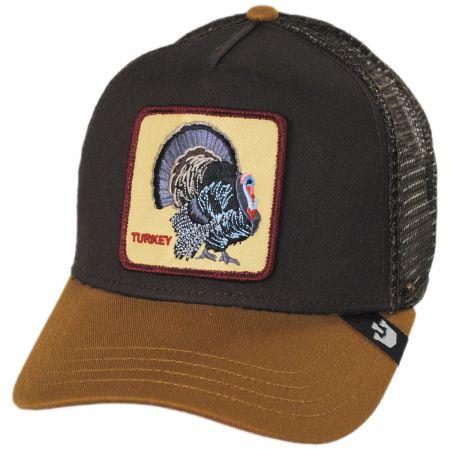 Goorin Bros Turkey Trucker Snapback Baseball Cap