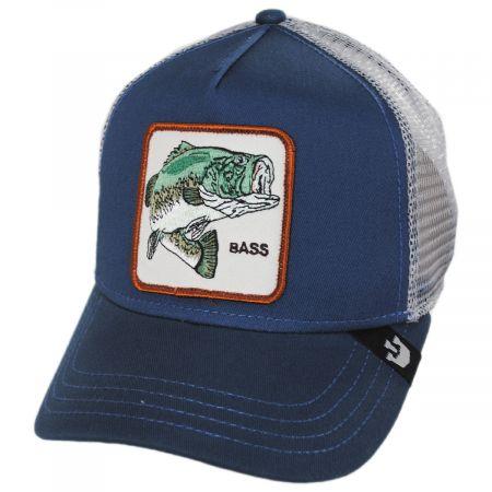 Bass Trucker Snapback Baseball Cap