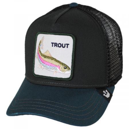 Goorin Bros Trout Trucker Snapback Baseball Cap