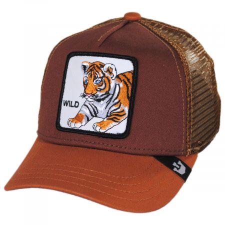 Goorin Bros Wild Tiger Kids Trucker Snapback Baseball Cap