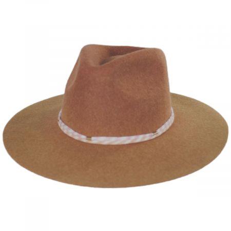 Country Boy Wool Felt Crossover Hat