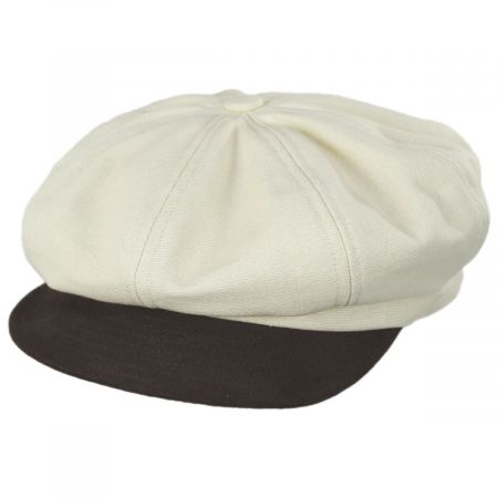 Montreal Cotton and Suede Cap