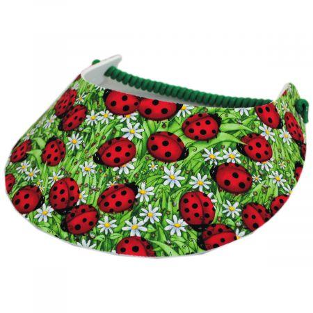 Springlace Ladybug Sunvisor