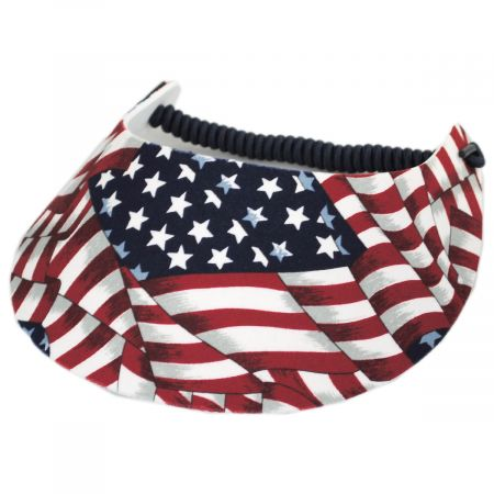 Springlace Flags Sunvisor