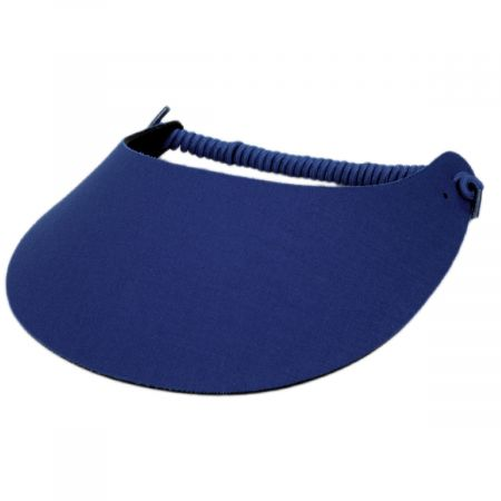 The Incredible Sunvisor Springlace Solid Sunvisor