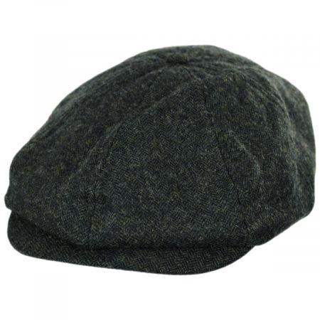 Brood Adjustable Wool Blend Newsboy Cap