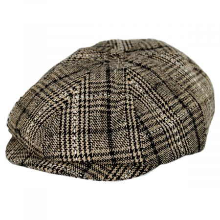 Brood Plaid Newsboy Cap alternate view 5