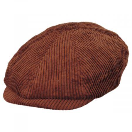 Brixton Hats Brood Wide Wale Corduroy Newsboy Cap