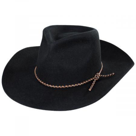 Brixton Hats Jenkins Wool Felt Cowboy Hat
