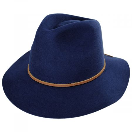 Wesley Wool Felt Fedora Hat alternate view 7
