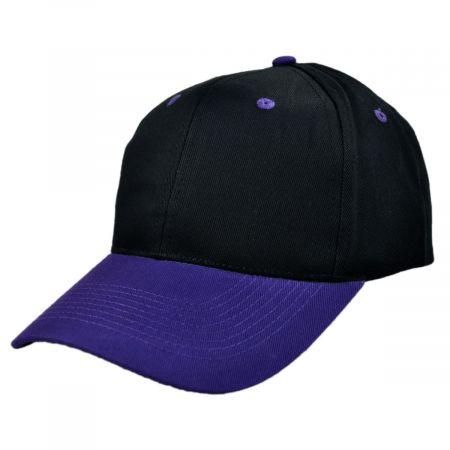 KC Caps Two-Tone Pro Cotton Twill Snapback Baseball Cap