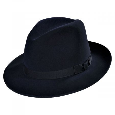 Runabout Packable Fur Felt Fedora Hat alternate view 19