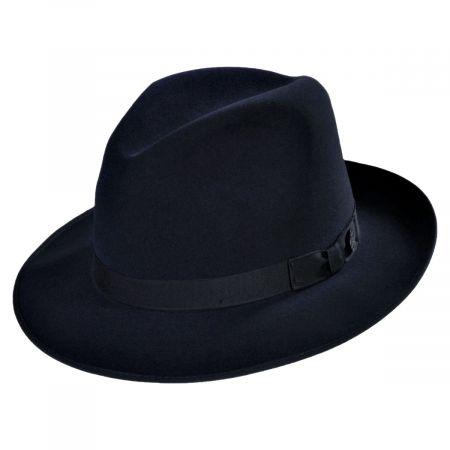 Runabout Packable Fur Felt Fedora Hat alternate view 27