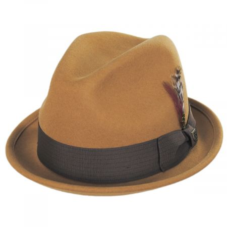 Brixton Hats Gain Wool Felt Blend Fedora Hat