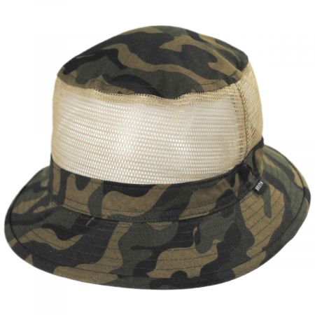 Brixton Hats Hardy Cotton Blend Bucket Hat