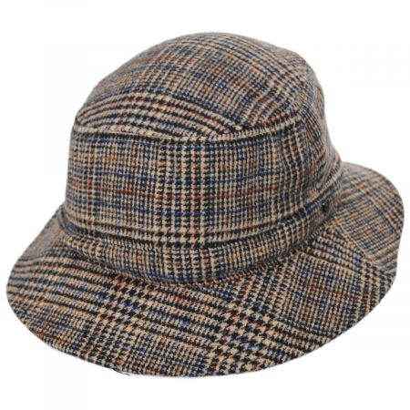 Brixton Hats Mathews Plaid Wool Blend Bucket Hat