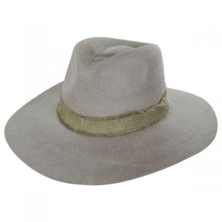Brixton Hats Ella Wool Felt Fedora Hat
