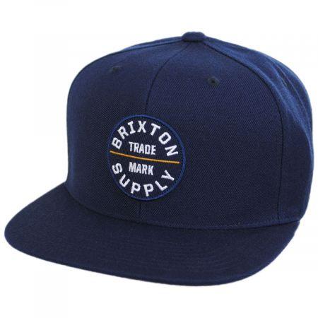 Brixton Hats Oath III Snapback Baseball Cap