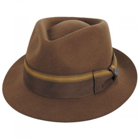 Star Boy Wool Felt Fedora Hat