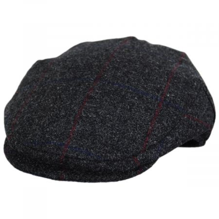Lovat Windowpane Plaid Waterproof Wool Ivy Cap