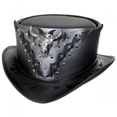 Head 'N Home Ironclad Leather Top Hat
