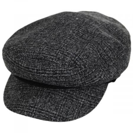 Brixton Hats Tweed Fiddler Cap