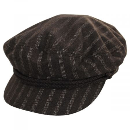 Striped Wool Blend Fiddler Cap alternate view 13
