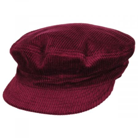 Unstructured Corduroy Cotton Fiddler Cap