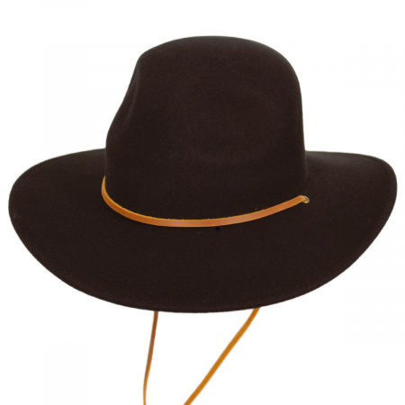 Tiller III Wool Felt Wide Brim Hat