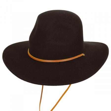 Brixton Hats Tiller III Wool Felt Wide Brim Hat
