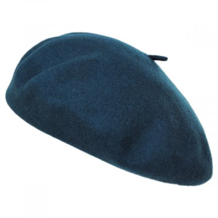 Audrey Satin Lined Wool Beret