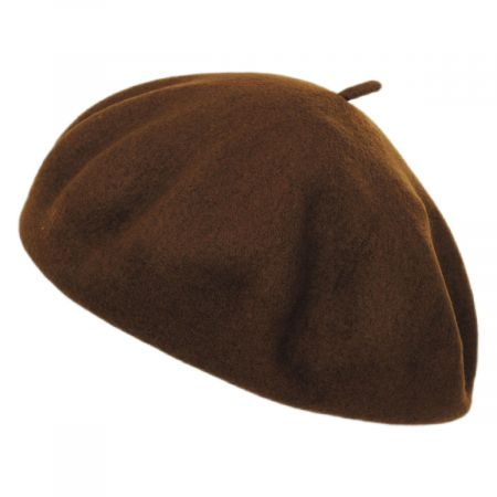 Brixton Hats Audrey Satin Lined Wool Beret