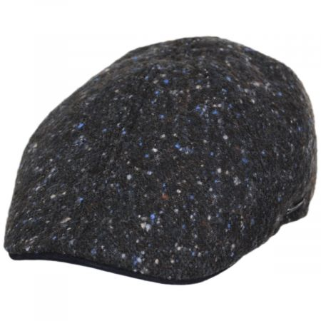 Donegal Marl Tweed Wool and Cotton Duckbill Cap alternate view 5